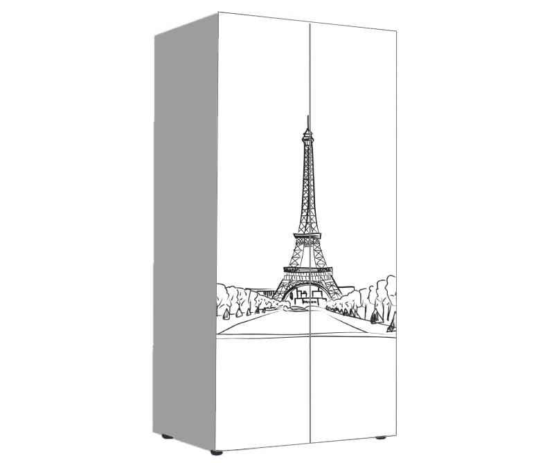 детский шкаф париж эйфелева башня