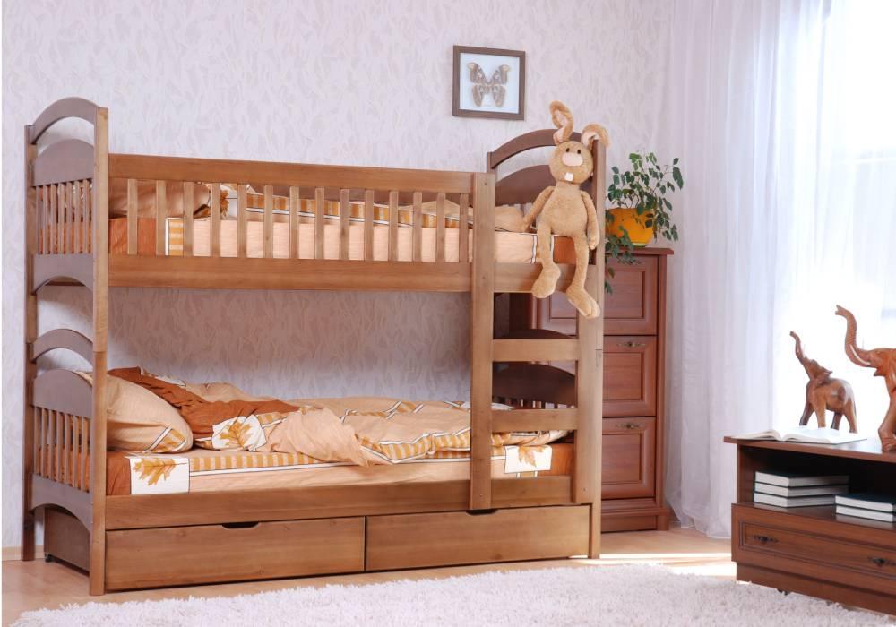 двухъярусная кровать арина в детскую