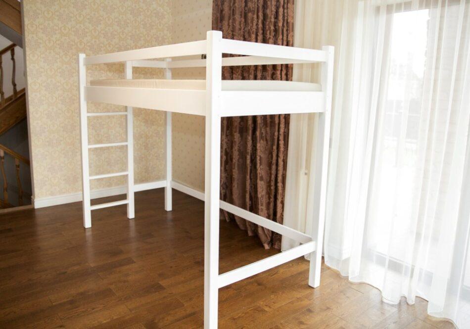 кровать чердак с большим спальным местом