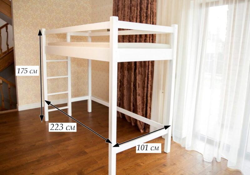 размеры кровати домика даниэль