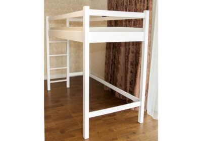 кровать чердак белый даниэль