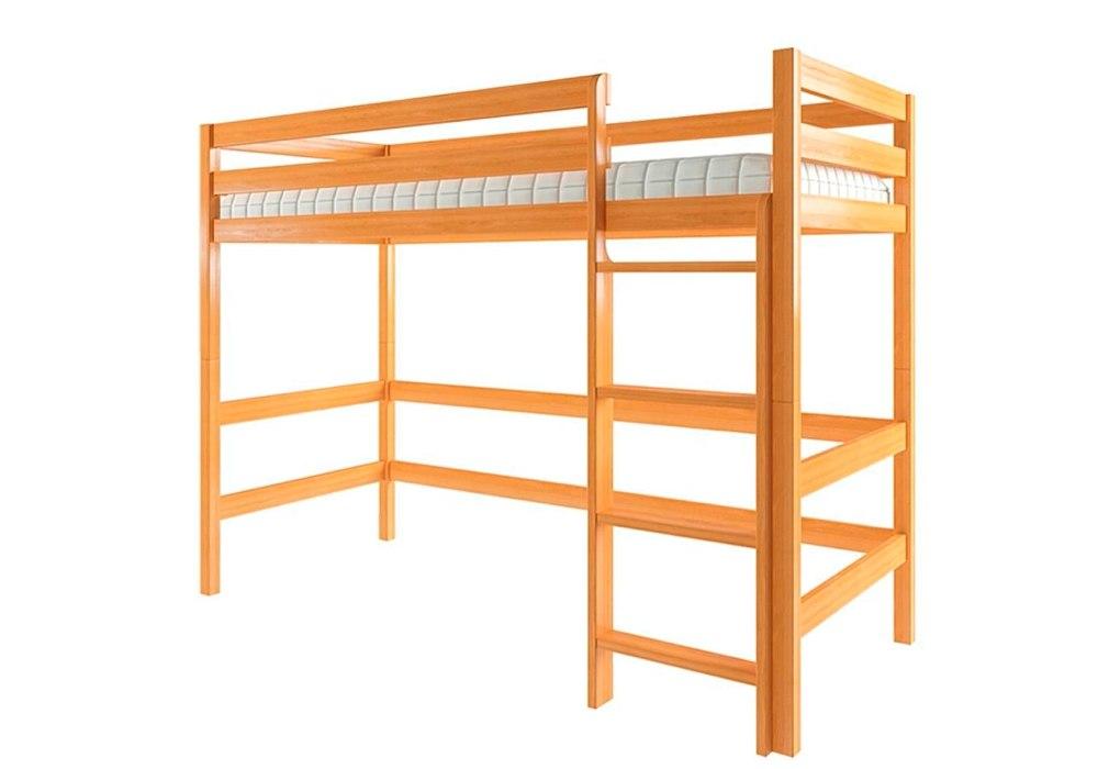 кровать чердак эко из ольхи недорого