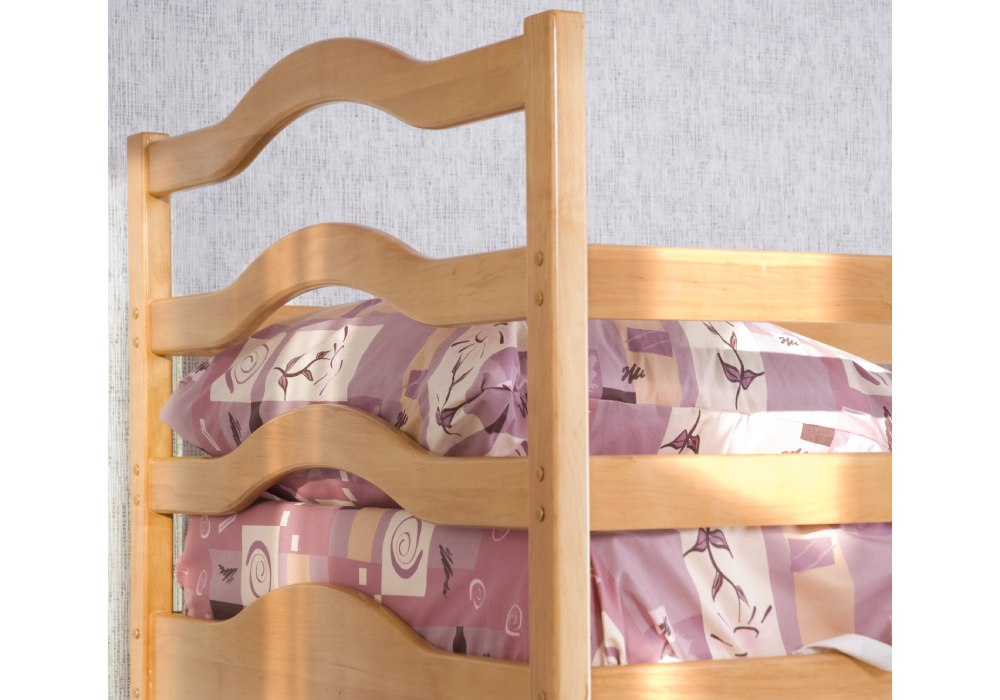 двухъярусная кровать софия из ольхи быльце