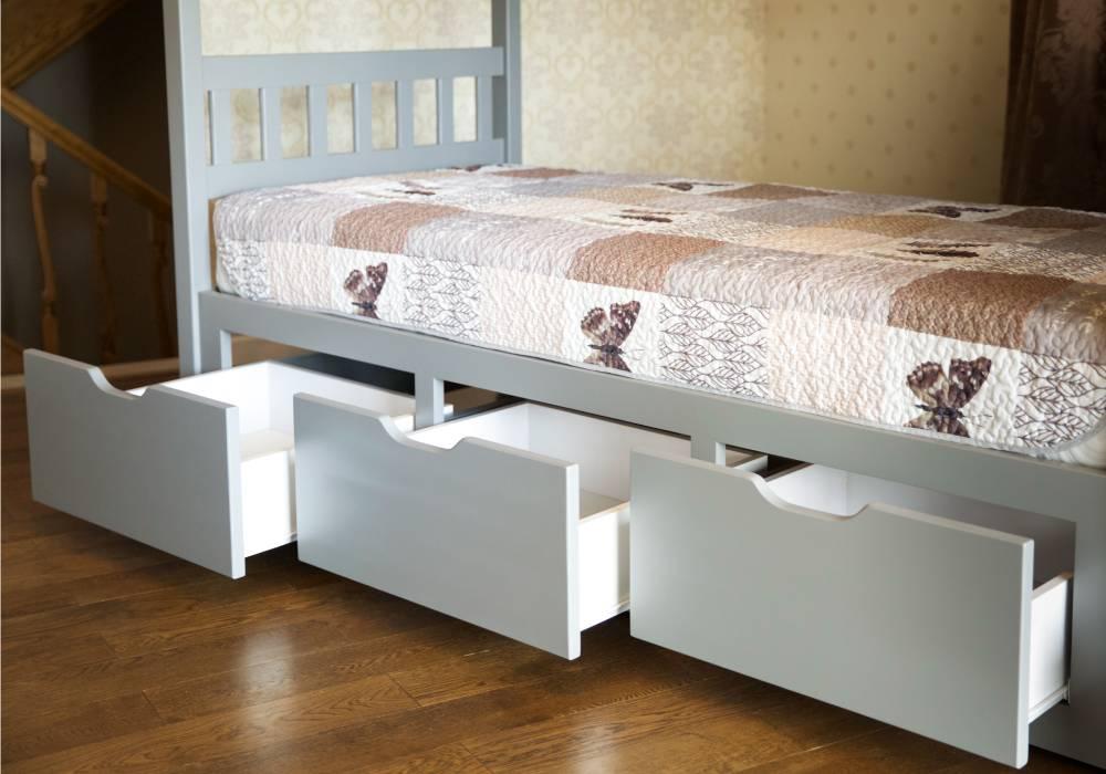 двухъярусная кровать владимир с 3 ящиками