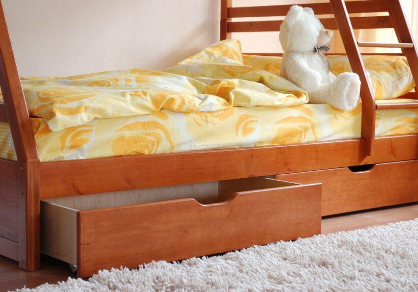 двухъярусная кровать юлия ящик