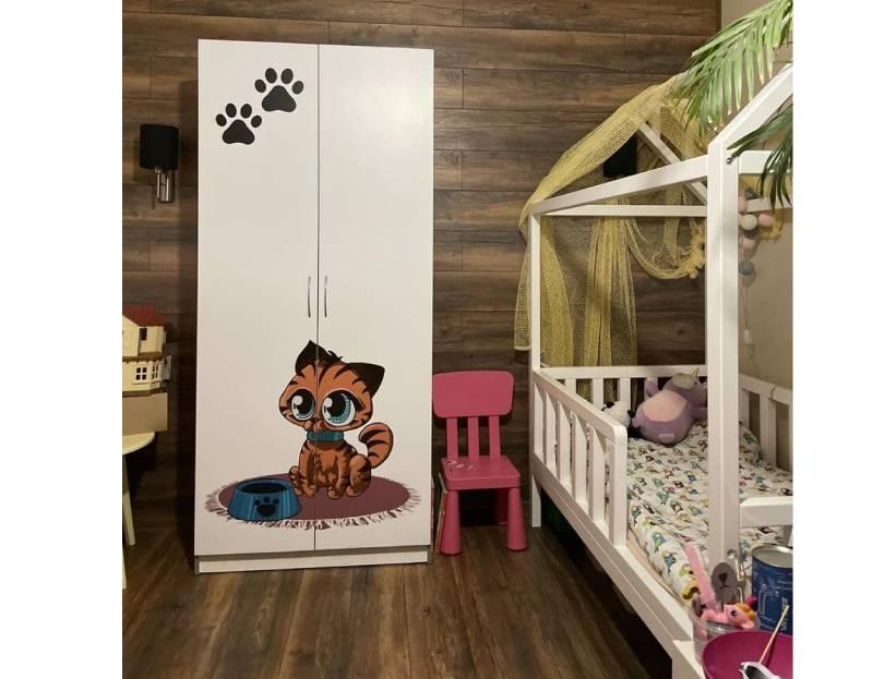 Отзыв детского шкафа с котиками