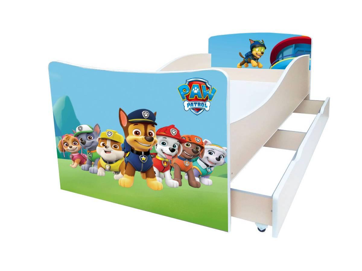 детская кровать киндер патруль