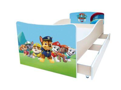 детская кровать киндер щенячий патруль