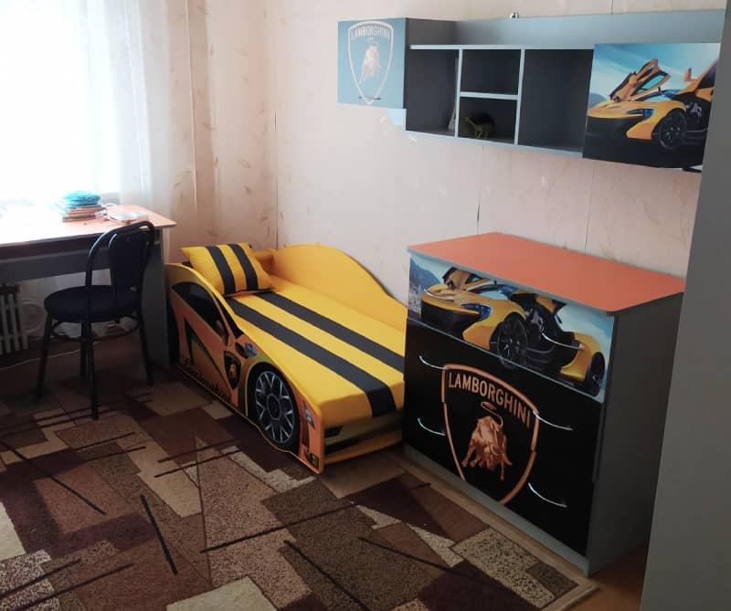 детская комната ламборджини