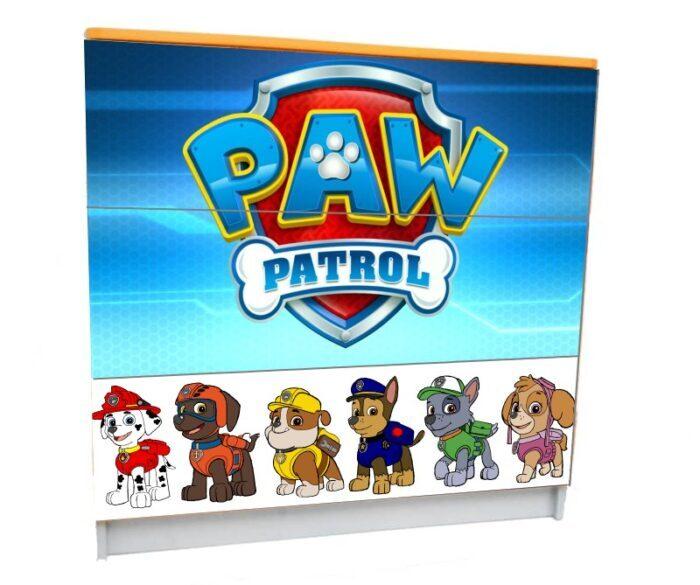 детский комод на 3 ящика щенячий патруль собачки