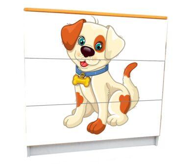 Собачки мультяшные. 3 ящика