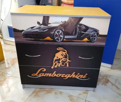 Черный Ламбо. 3 ящика