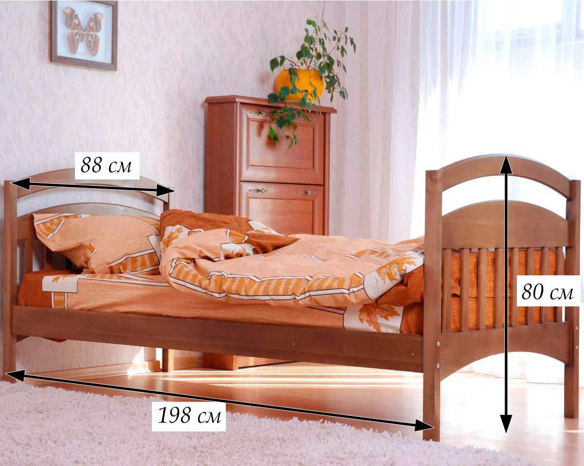 схема детской кровати арина