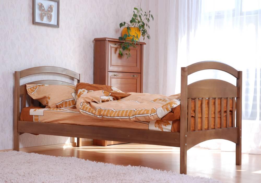 детская кровать арина из двухъярусной