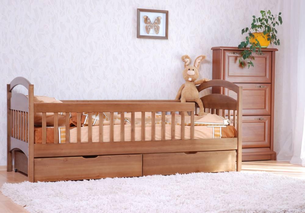 детская кровать арина с перегородками