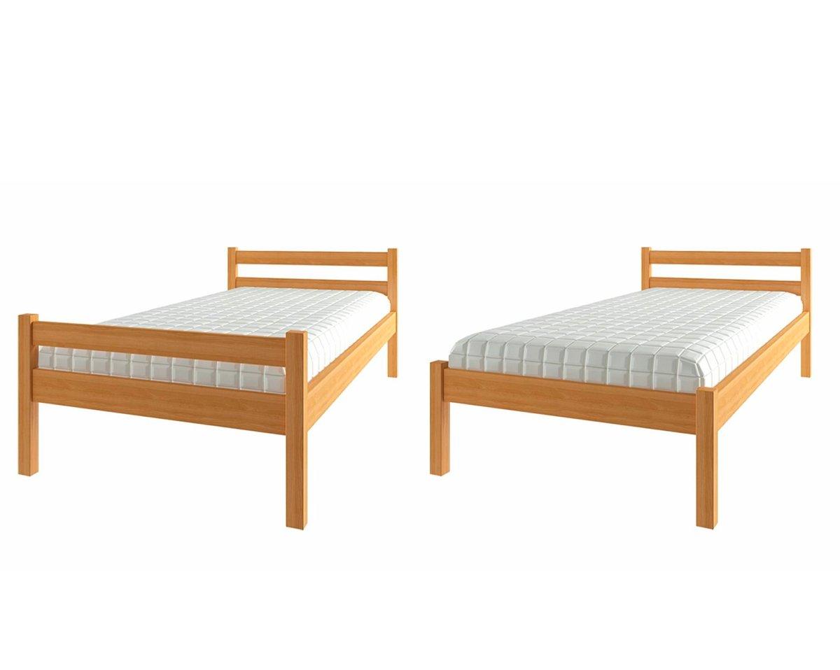 недорогая кровать эко из ольхи