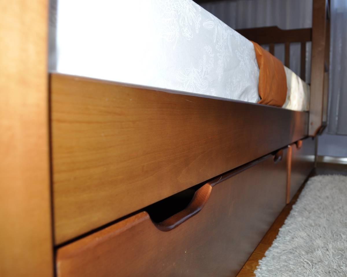 детская кровать ева с ящиком
