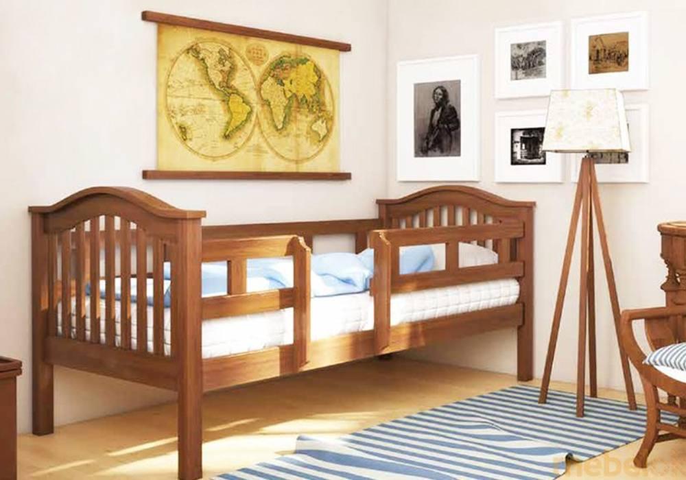кровать детская трансформер максим с бортиками
