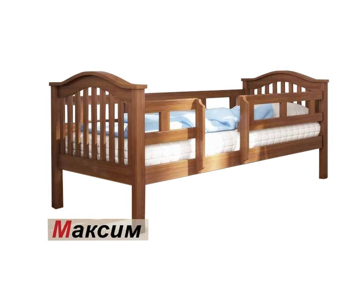 детская кровать из ольхи максим