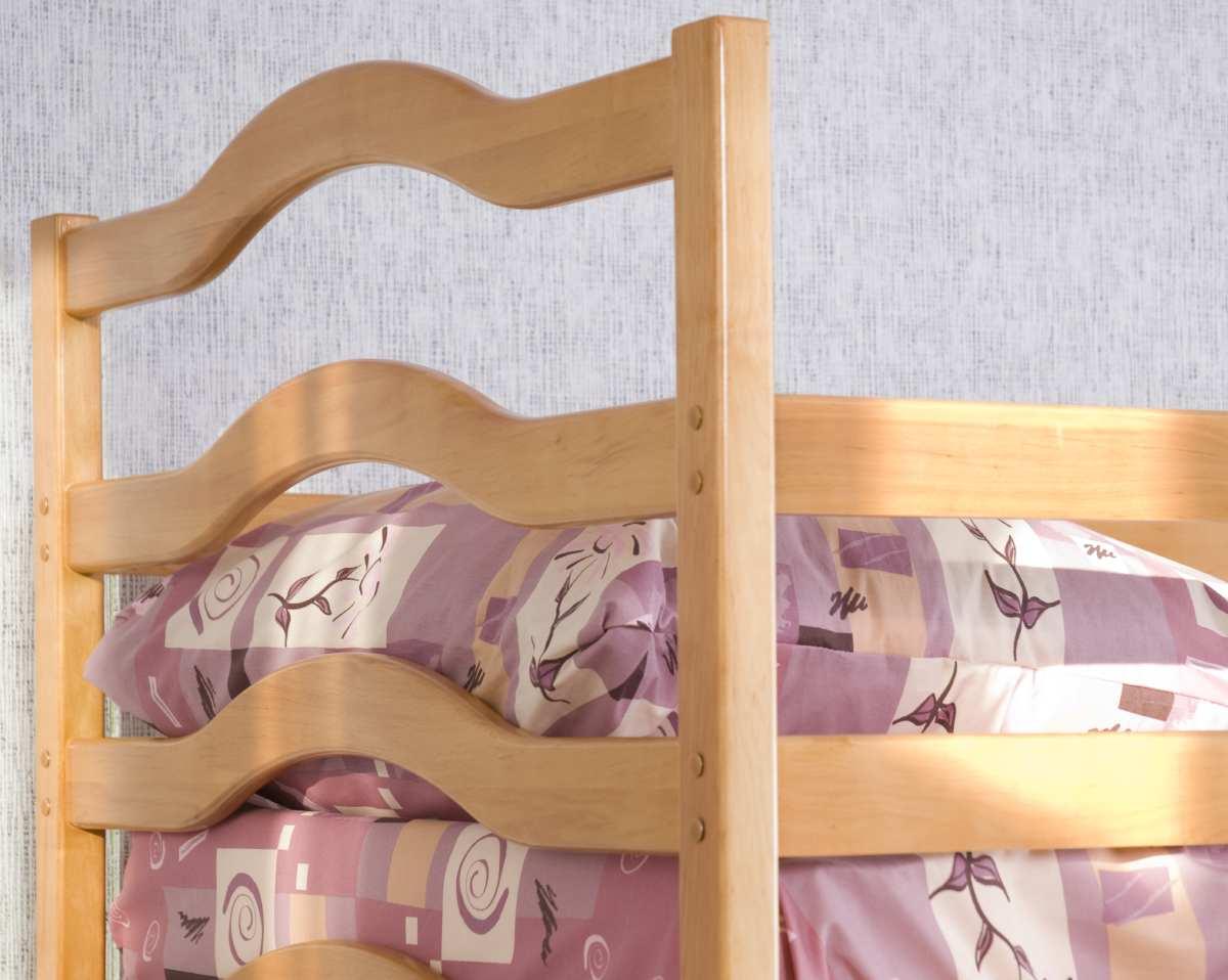 детская кровать софия из ольхи быльце