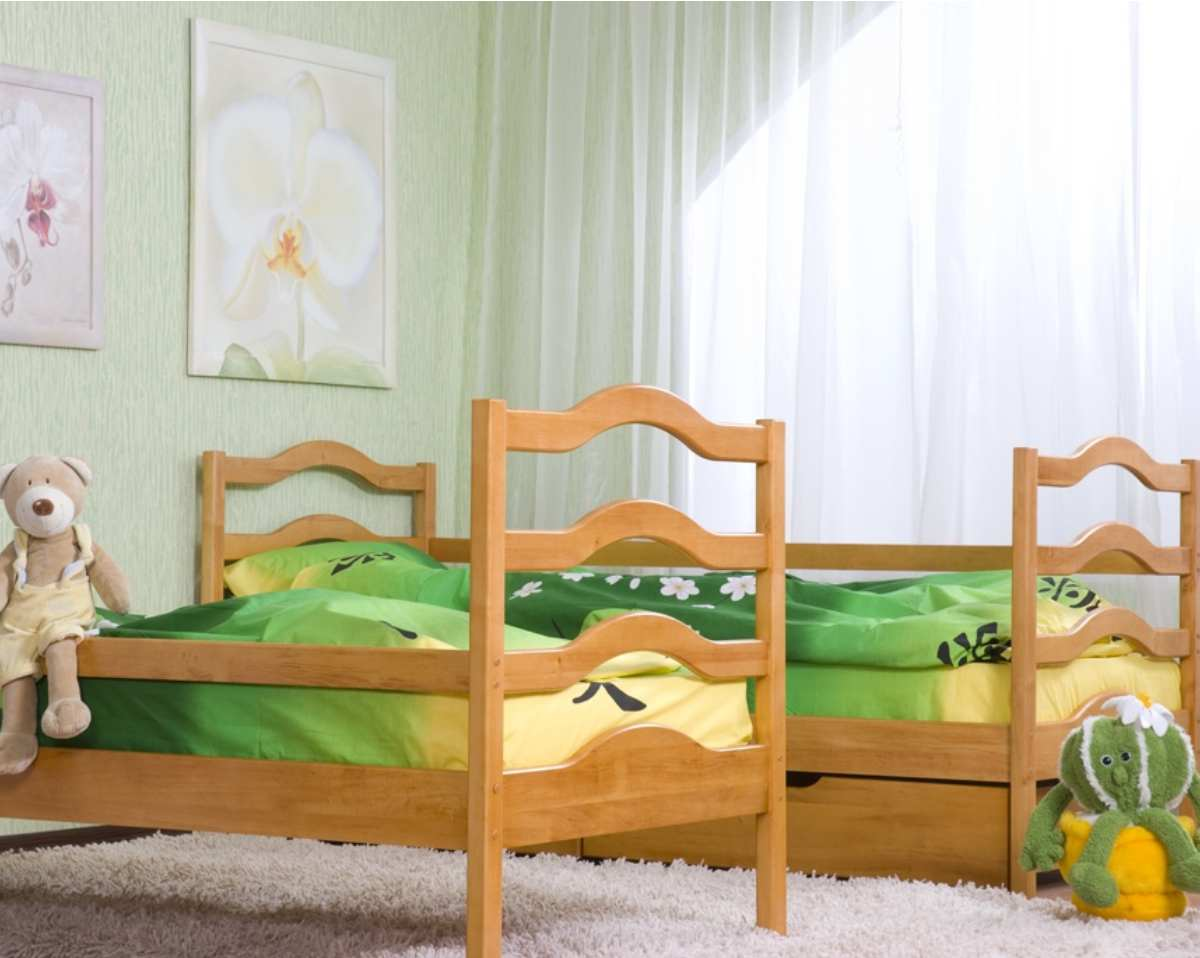 детская кровать софия из ольхи
