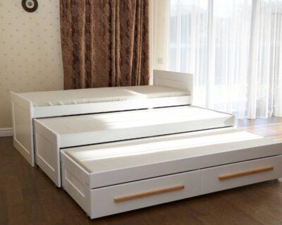 кровать трансформер на 3 выдвижных места николь