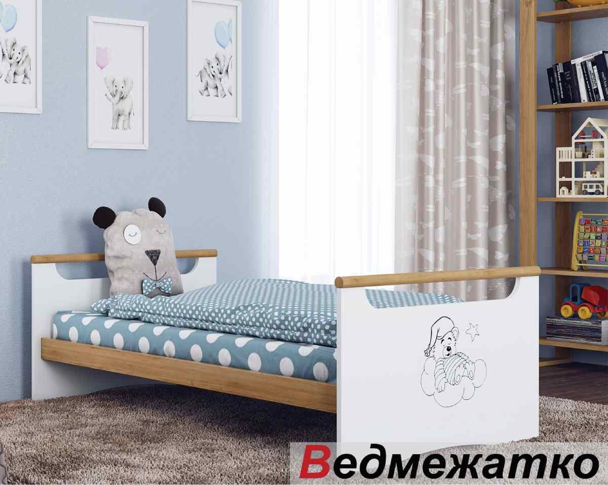 кровать трансформер новорожденным медвежонок