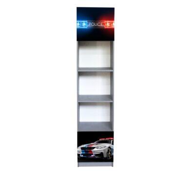 Полиция белая, 2 дверки