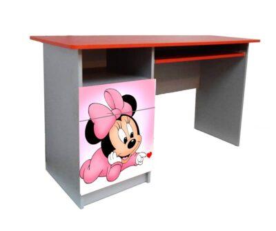 підлітковий письмовий стіл Мінні рожевий
