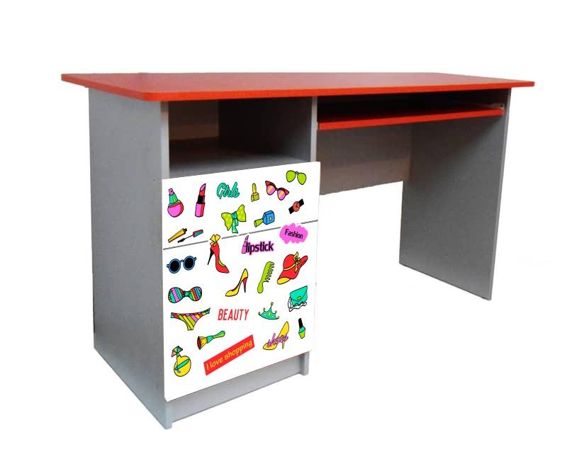 подростковый письменный стол гламур