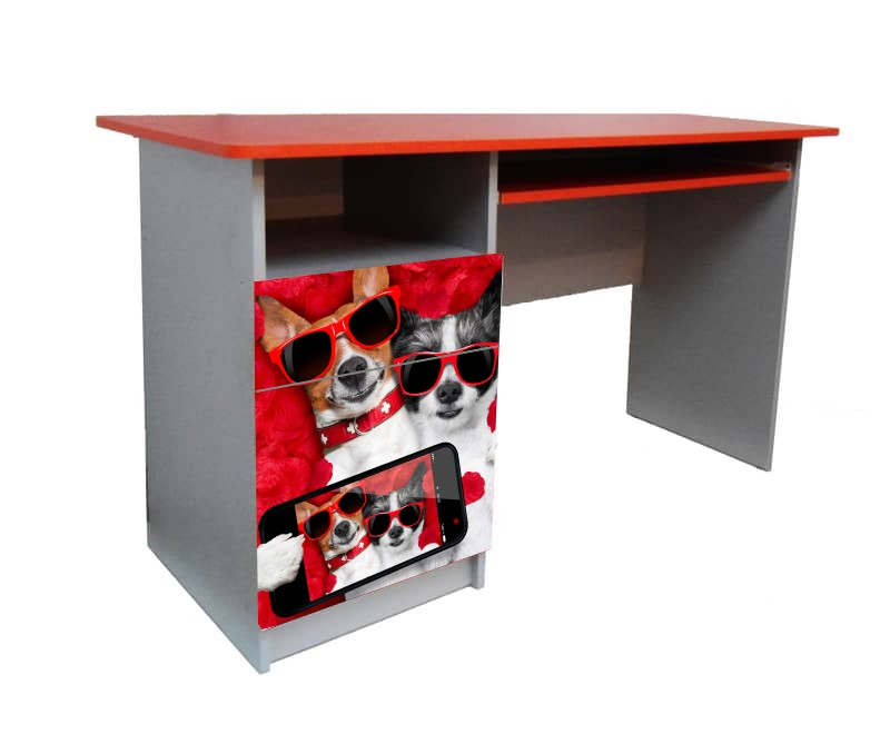 письменный стол собачки
