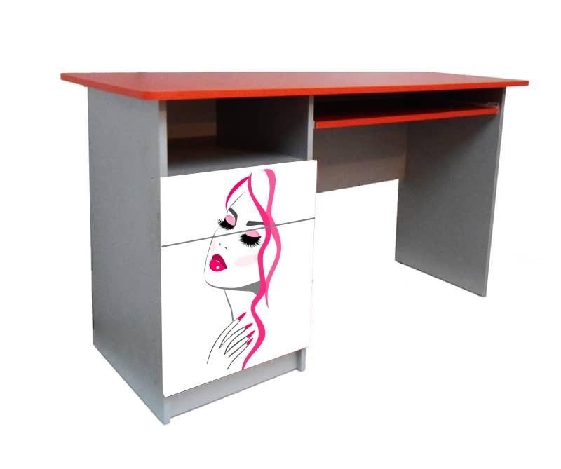 подростковый письменный стол девушка гламур