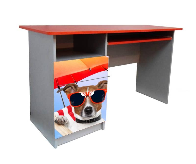 письменный стол собачка с зонтом
