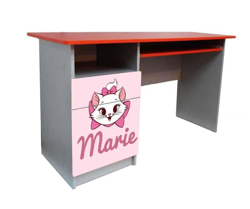 подростковый письменный стол мэри розовая