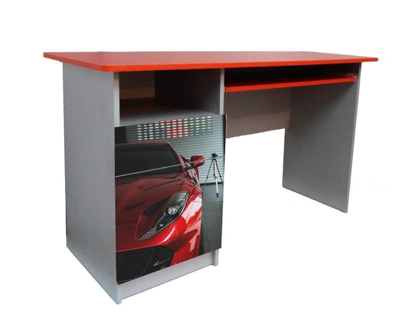 письменный стол феррари красная