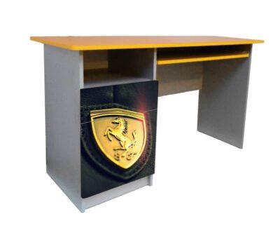письменный детский стол феррари желтый