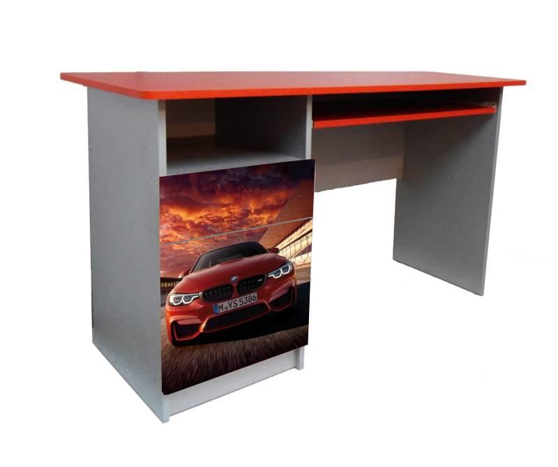 детский письменный стол бмв красный