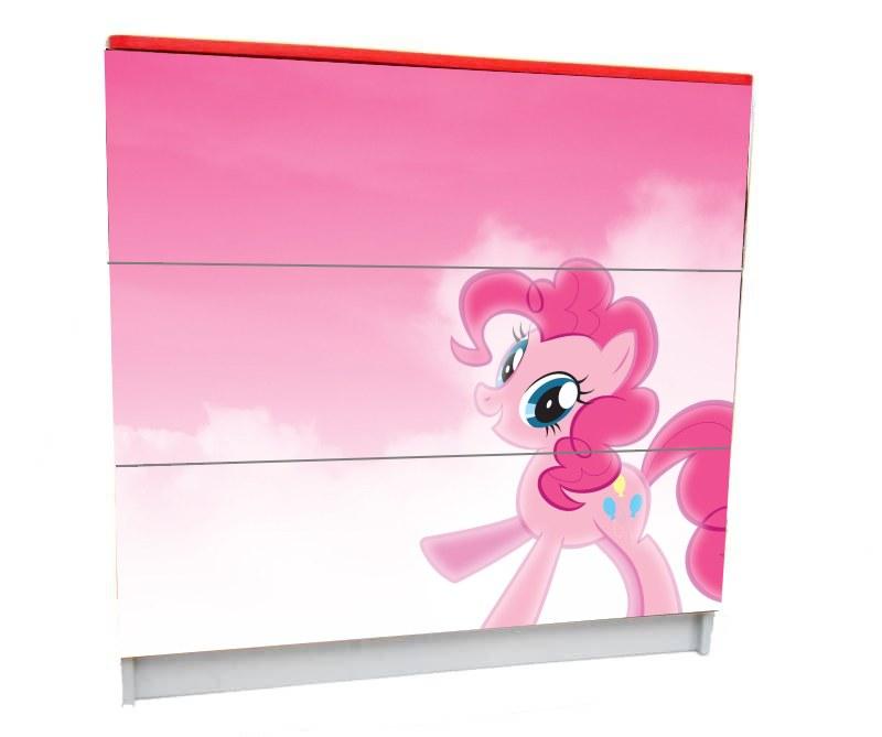 детский комод на 3 ящика my little pony