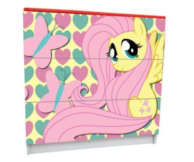 Пони розовые. 3 ящика