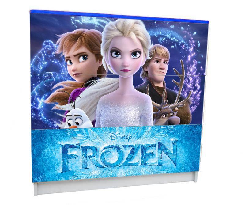 холодное сердце комод в детскую 3 ящика для девочки