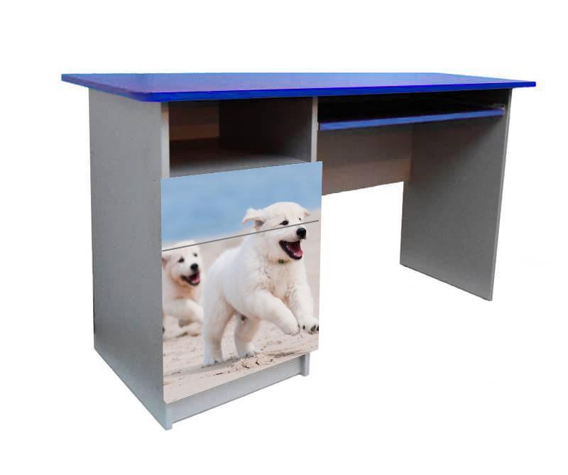 письменный стол с собачкой