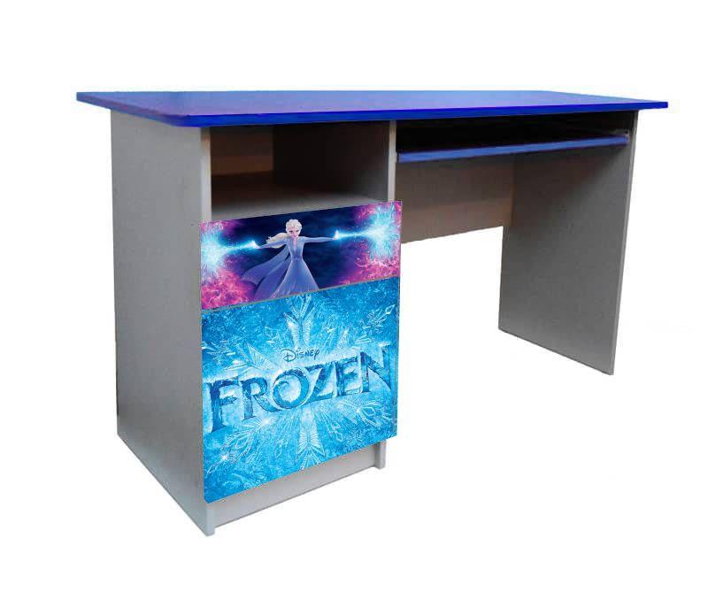 детский письменный стол эльза с логотипом
