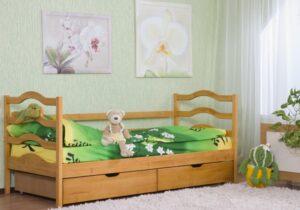 детская кровать софия из двухъярусной
