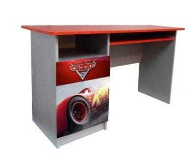 письменный детский стол тачки гонщик