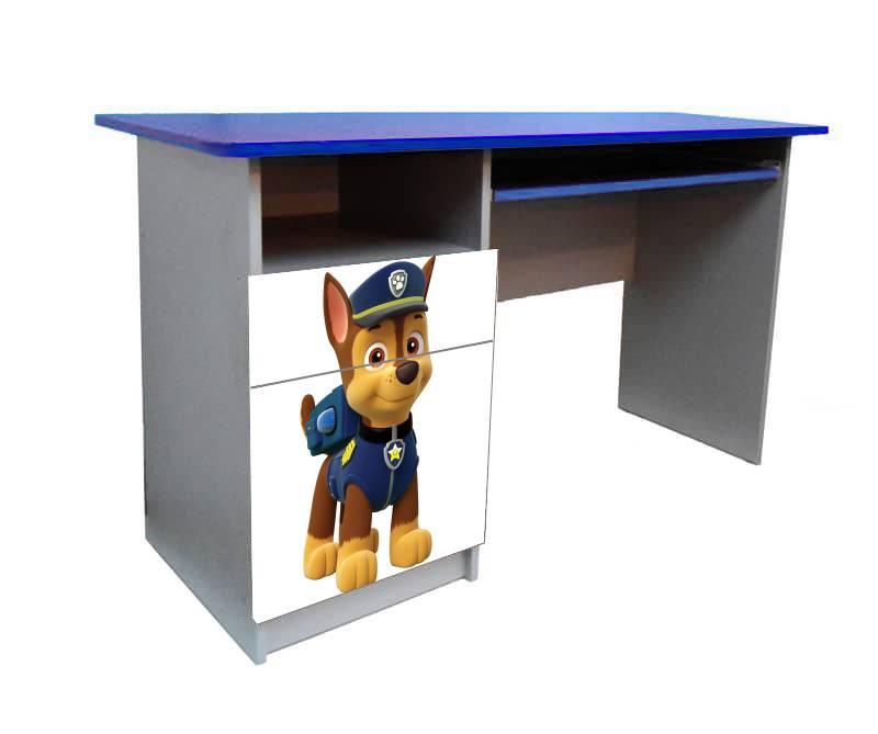 письменный стол щенячий патруль гонщик