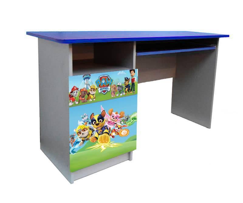письменный стол синий щенячий патруль