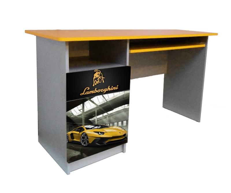 желтый письменный стол ламбо