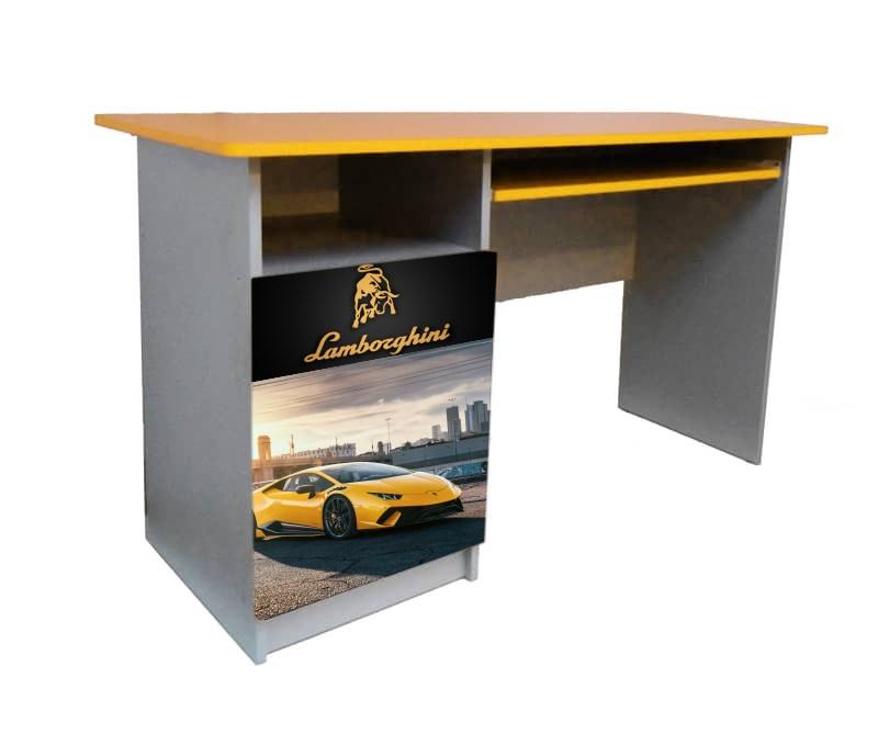 письменный стол желтый ламбо
