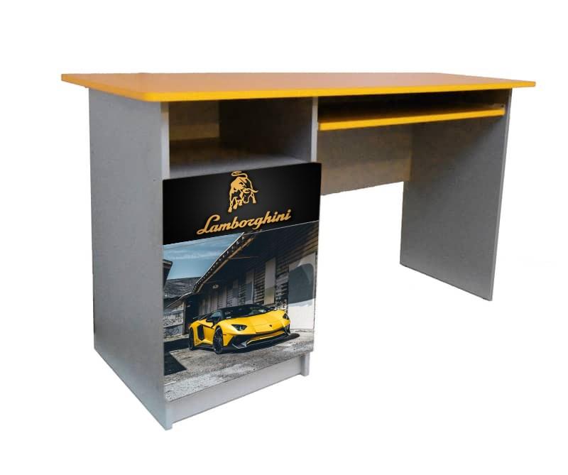 письменный стол желтый ламборджини