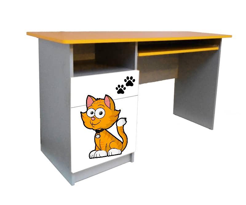 письменный стол мульт котик